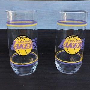 Vintage Lakers Glasses